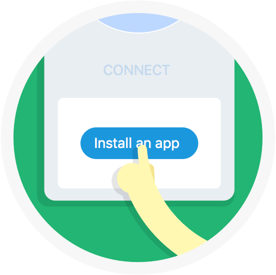 Image result for Install an app